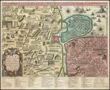 Curiosities Map By Reiner & Joshua Ottens