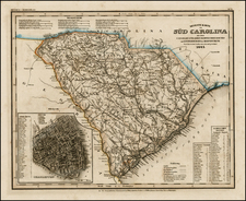 Southeast Map By Joseph Meyer  &  Carl Radefeld