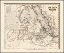 Asia, Middle East, Africa, North Africa and East Africa Map By Joseph Meyer