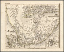 Africa and South Africa Map By Joseph Meyer