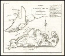 New England Map By Pierre Antoine Tardieu