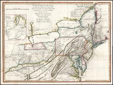 Mid-Atlantic and Midwest Map By Pierre Antoine Tardieu / Louis Evans