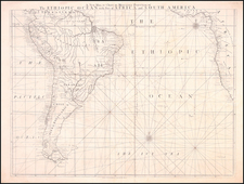 South America Map By William Herbert