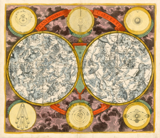 World, World, Curiosities and Celestial Maps Map By David Funcke