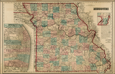 Midwest and Plains Map By O.W. Gray