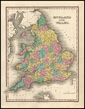 Europe and British Isles Map By Anthony Finley