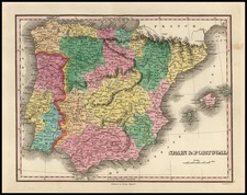 Europe, Spain and Portugal Map By Anthony Finley