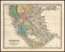 Europe, Balearic Islands and Greece Map By Anthony Finley