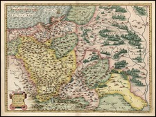 Europe, Poland and Baltic Countries Map By Abraham Ortelius