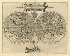 World and World Map By Cornelis van Wytfliet
