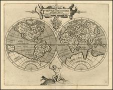 World and World Map By Cornelis van Wytfliet