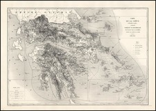 Europe, Greece, Turkey and Balearic Islands Map By Depot de la Guerre