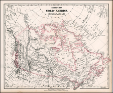 Alaska and Canada Map By Carl Flemming