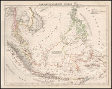 Asia, Southeast Asia and Philippines Map By Carl Flemming