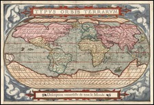 World and World Map By Francois De Belleforest