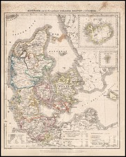 Europe, Scandinavia and Iceland Map By Carl Flemming