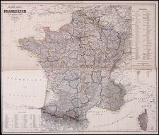 Europe and France Map By Carl Flemming