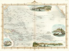 World, Australia & Oceania, Pacific, Oceania, Hawaii and Other Pacific Islands Map By John Tallis
