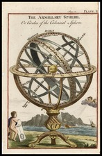 World, Curiosities and Celestial Maps Map By Thomas Jefferys