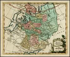 Europe, Russia and Ukraine Map By Thomas Jefferys