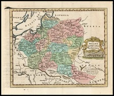 Europe, Germany, Poland and Baltic Countries Map By Thomas Jefferys