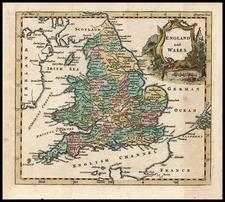 Europe and British Isles Map By Thomas Jefferys