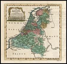 Europe and Netherlands Map By Thomas Jefferys