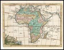 Africa and Africa Map By Thomas Jefferys
