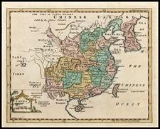 Asia, China, Korea and Central Asia & Caucasus Map By Thomas Jefferys
