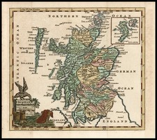 Europe and British Isles Map By Thomas Jefferys