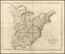 United States Map By John Reid