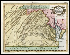 Southeast Map By London Magazine