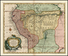 South America Map By Emanuel Bowen