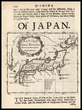 Japan Map By Robert Morden