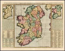 Ireland Map By Henri Chatelain