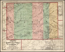 Plains and Rocky Mountains Map By George F. Cram
