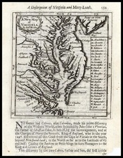 Mid-Atlantic and Southeast Map By Robert Morden