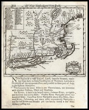 New England Map By Robert Morden