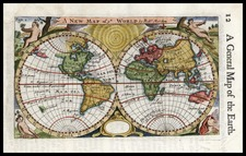 World and World Map By Robert Morden