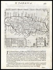 Caribbean Map By Robert Morden