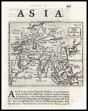 Asia and Asia Map By Robert Morden