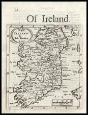 Ireland Map By Robert Morden