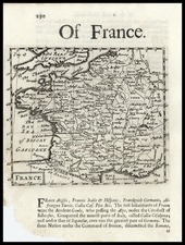 France Map By Robert Morden