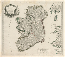 Ireland Map By Giovanni Antonio Remondini