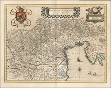 Europe, Balkans and Italy Map By Willem Janszoon Blaeu