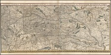 Germany, Austria, Hungary and Balkans Map By Willem Janszoon Blaeu
