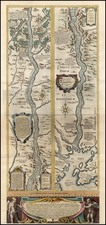 Europe and Russia Map By Willem Janszoon Blaeu