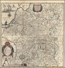 Europe, Poland, Russia and Baltic Countries Map By Willem Janszoon Blaeu / Hessel Gerritsz