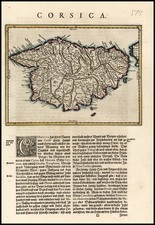 Europe, France and Balearic Islands Map By Willem Janszoon Blaeu