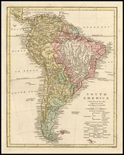 South America Map By Robert Wilkinson